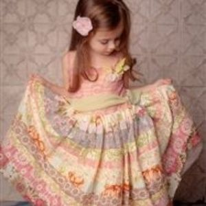 Moxie & Mabel Tiered Floral Rosalie Dress